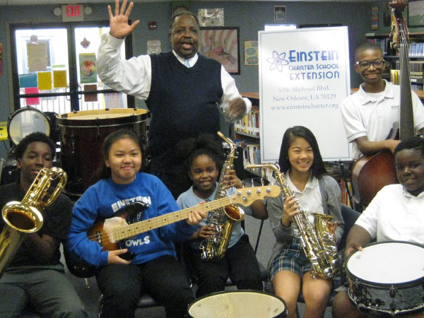 A thankful school band program.